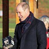 El Príncipe Guillermo en Cardiff en su Royal Train Tour