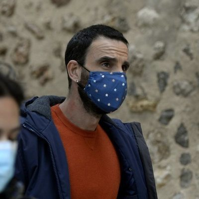 Dani Rovira en el rodaje de un spot en Mallorca