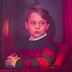 El Príncipe Jorge de Cambridge en el espectáculo 'Pantoland'