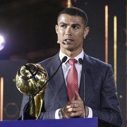 Cristiano Ronaldo, nombrado Mejor Jugador del siglo XXI en los Premios Globe Soccer 2020 en Dubai