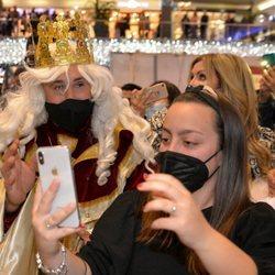 Kiko Rivera en el evento navideño del Centro Comercial La Cañada de Marbella