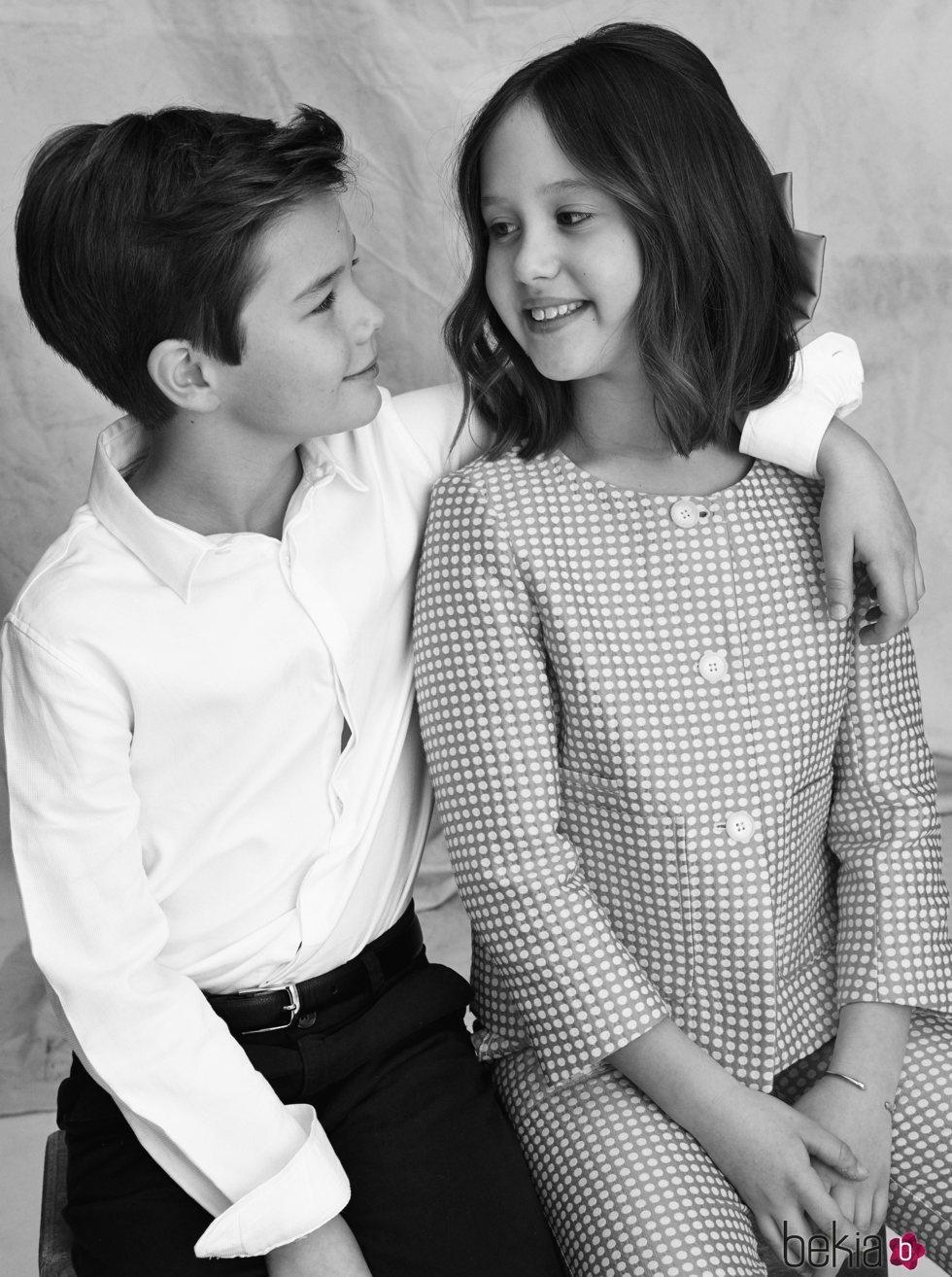 Vicente y Josefina de Dinamarca se miran con cariño en su 10 cumpleaños