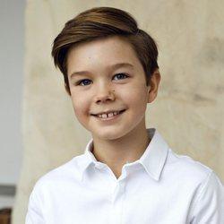 Vicente de Dinamarca en su 10 cumpleaños