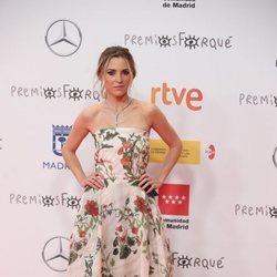 Ana Fernández en la alfombra roja de los Premios José María Forqué 2021