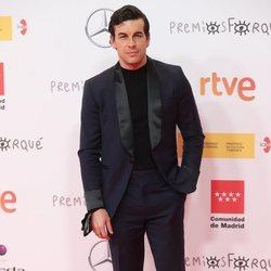 Mario Casas en la alfombra roja de los Premios José María Forqué 2021