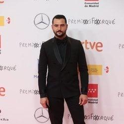 Antonio Velázquez en la alfombra roja de los Premios José María Forqué 2021