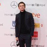 Raúl Arévalo en la alfombra roja de los Premios José María Forqué 2021
