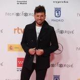 Pablo López en la alfombra roja de los Premios José María Forqué 2021