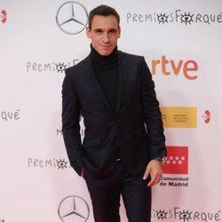 Ricard Sales en la alfombra roja de los Premios José María Forqué 2021