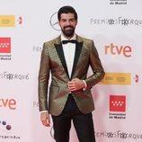 Miguel Ángel Muñoz en la alfombra roja de los Premios José María Forqué 2021