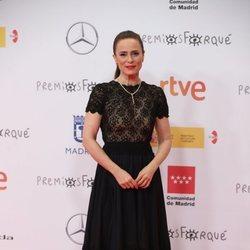 Aitana Sánchez Gijón en la alfombra roja de los Premios José María Forqué 2021
