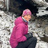 Marta Luisa de Noruega durante una expedición