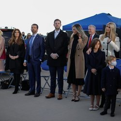 Toda la familia de Donald Trump en su último día como Presidente de Estados Unidos