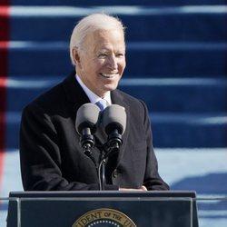 Joe Biden, feliz tras convertirse en el 46º Presidente de Estados Unidos