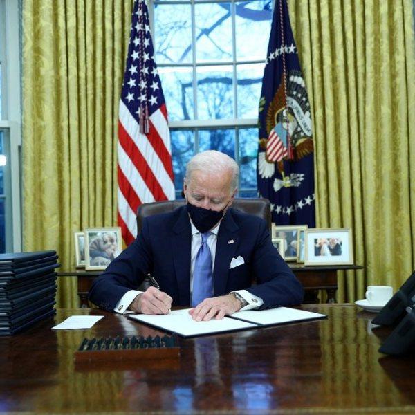 Toma de posesión de Joe Biden como 46º Presidente de Estados Unidos
