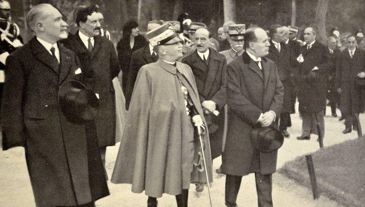 Víctor Manuel III de Italia y Mussolini