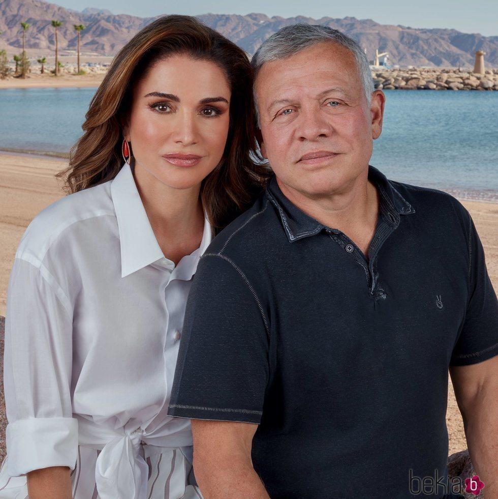 La Reina Rania de Jordania felicita al Rey Abdalá II en su 59 cumpleaños