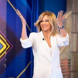 Susanna Griso en su llegada a 'El Hormiguero'