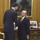 El Rey Felipe recibe a José Antonio Zarzalejos en La Zarzuela