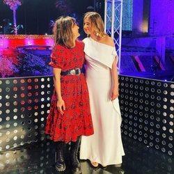 Sandra Barneda y Nagore Robles en la Nochevieja de 2020