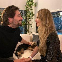 Vanesa Romero y Emilio Esteban celebrando San Valentín 2021