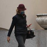La Infanta Elena reaparece tras su viaje a Abu Dabi para visitar al Rey Juan Carlos