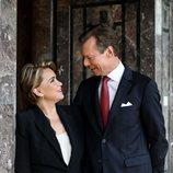 Enrique y María Teresa de Luxemburgo se miran enamorados en su 40 aniversario de boda