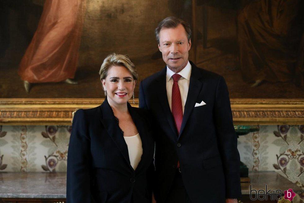 Enrique y María Teresa de Luxemburgo en su 40 aniversario de boda