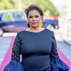María Teresa de Luxemburgo en el Día de Luxemburgo 2019