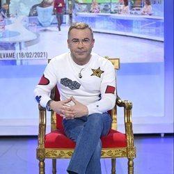 Jorge Javier Vázquez en el trono de 'MyHyV'