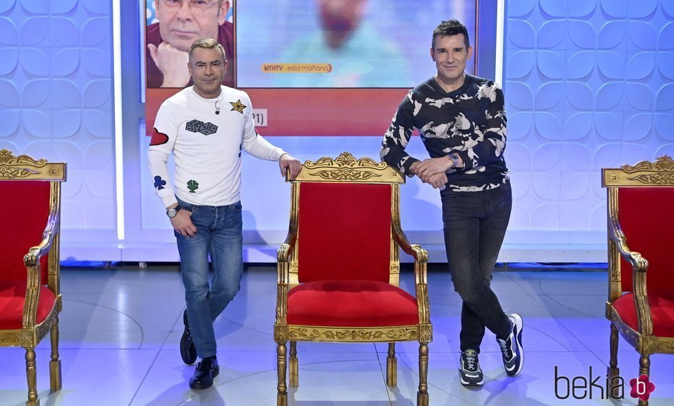 Jorge Javier Vázquez y Jesús Vázquez en 'MyHyV'