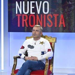 Jorge Javier Vázquez en su estreno como tronista de 'MyHyV'