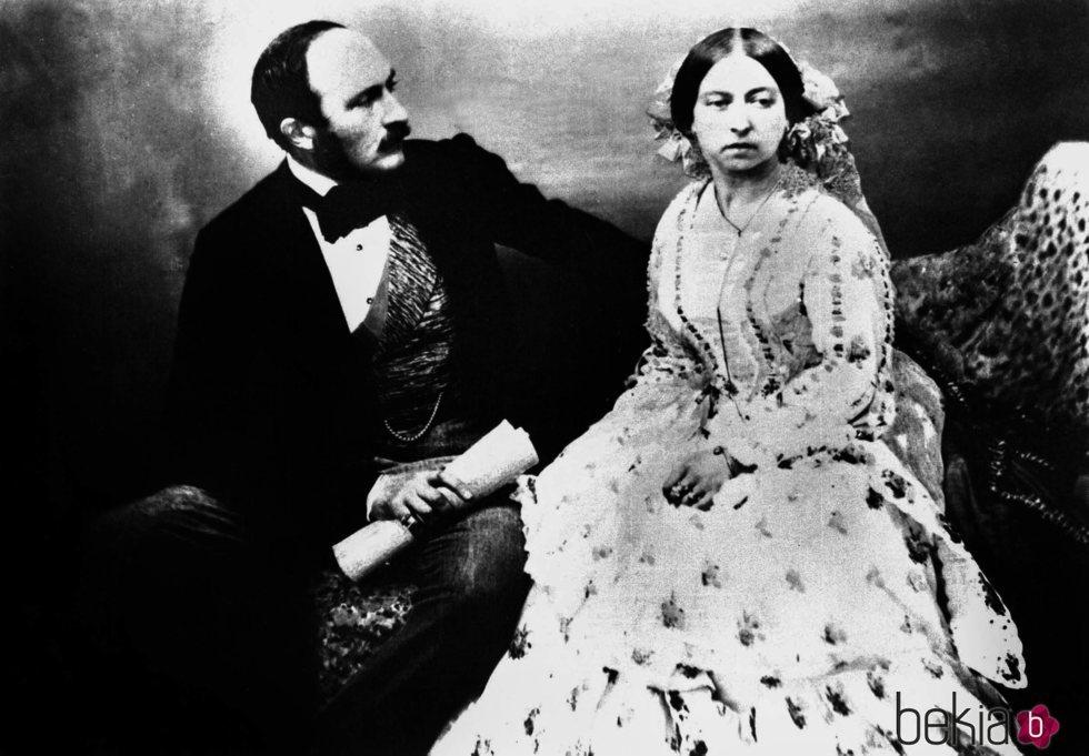 La Reina Victoria y el Príncipe Alberto
