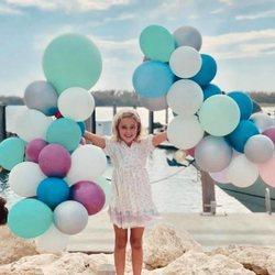La Princesa Leonor de Suecia celebrando su séptimo cumpleaños