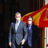 El Rey Felipe y Pedro Sánchez en el acto del 40 aniversario del 23F