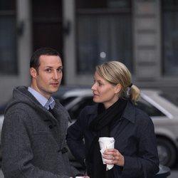 Haakon y Mette-Marit de Noruega en sus primeros años juntos