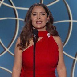 Salma Hayek en los Globos de Oro 2021