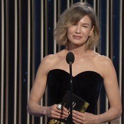 Renée Zellweger en los Globos de Oro 2021