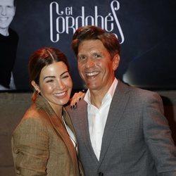 Virginia Troconis acompañando a Manuel Díaz 'El Cordobés' en su anuncio de su regreso a los ruedos