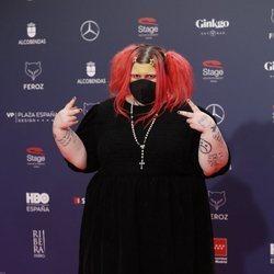 Soy una pringada en la alfombra roja de los Premios Feroz 2021