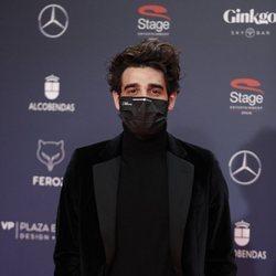 David Verdaguer en la alfombra roja de los Premios Feroz 2021