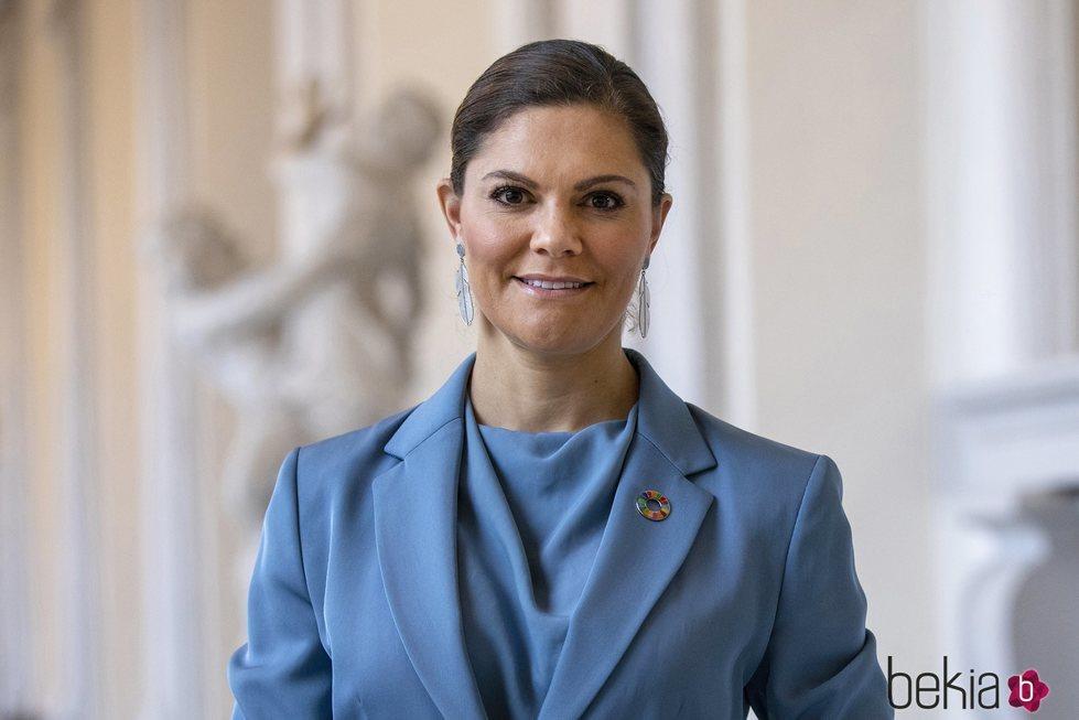 Victoria de Suecia en el World Diabetes Day