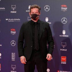 Jorge Sanz en la alfombra roja de los Premios Feroz 2021