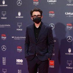 Berto Romero en la alfombra roja de los Premios Feroz 2021