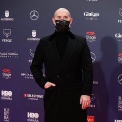 Javier Cámara en la alfombra roja de los Premios Feroz 2021