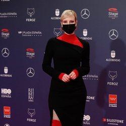 Natalia de Molina en la alfombra roja de los Premios Feroz 2021