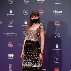 Verónica Echegui en la alfombra roja de los Premios Feroz 2021