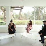 La Reina Letizia en una charla sobre cultura con Hugo Fontela, Elena Medel, Soleá Morente y Rafael R. Villalobos