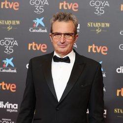 Mariano Barroso en la alfombra roja de los Goya 2021