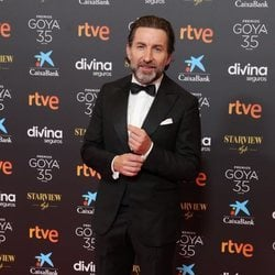 Antonio de la Torre en la alfombra roja de los Goya 2021